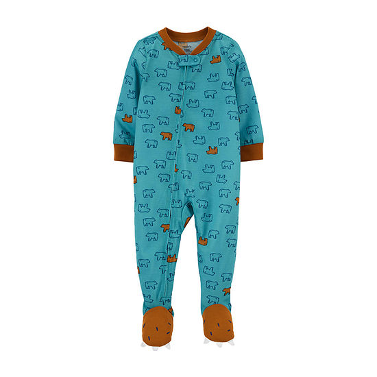 Carter's Toddler Boys Jersey Long Sleeve One Piece Pajama