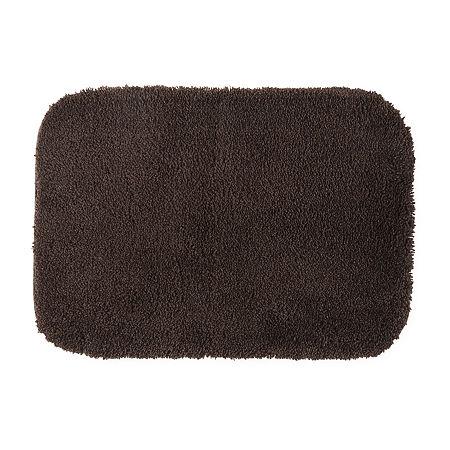 JCPenney Home Ultima Bath Rug Collection, One Size , Brown
