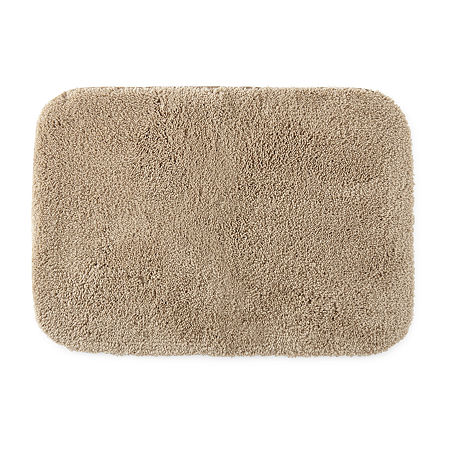 JCPenney Home Ultima Bath Rug Collection, One Size , Beige