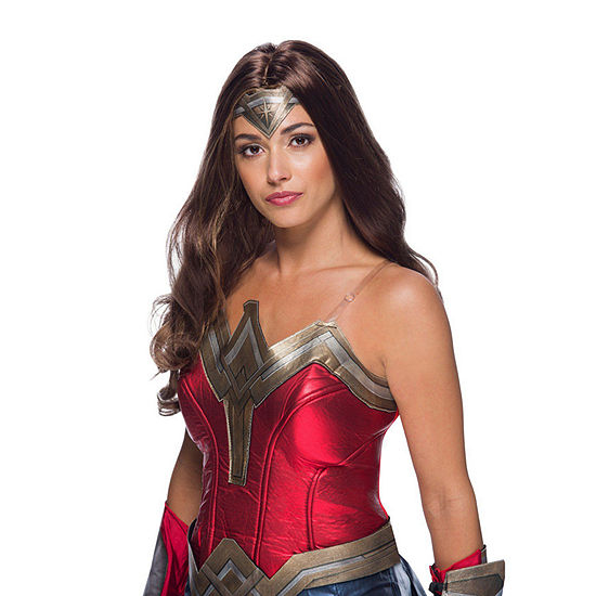 Ww2 Movie Wonder Woman Wig Adult Secret Wishes