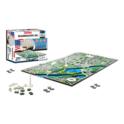 4D Cityscape Washington DC Time Puzzle