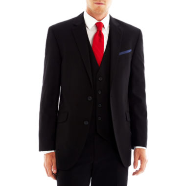 Billy London UK® Black Stretch Suit Jacket Slim Fit