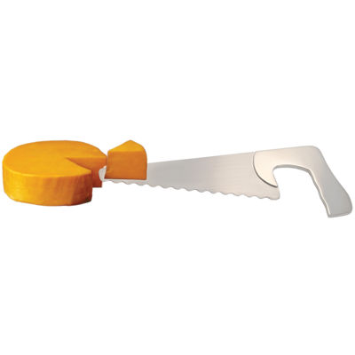 Natico Saw-Shaped Cake and Cheese Server