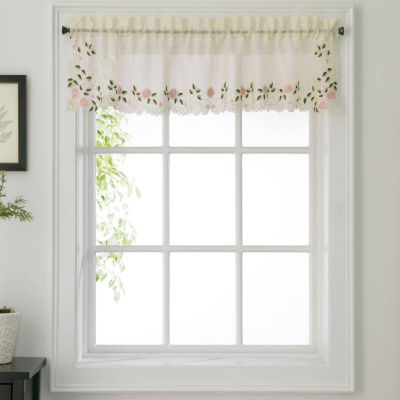 Rosemary Rod-Pocket Tailored Valance