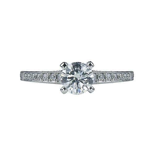 LIMITED QUANTITIES 7/8 CT. T.W. Diamond Engagement Ring