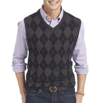 IZOD Fine Gauge Argyle Sweater Vest