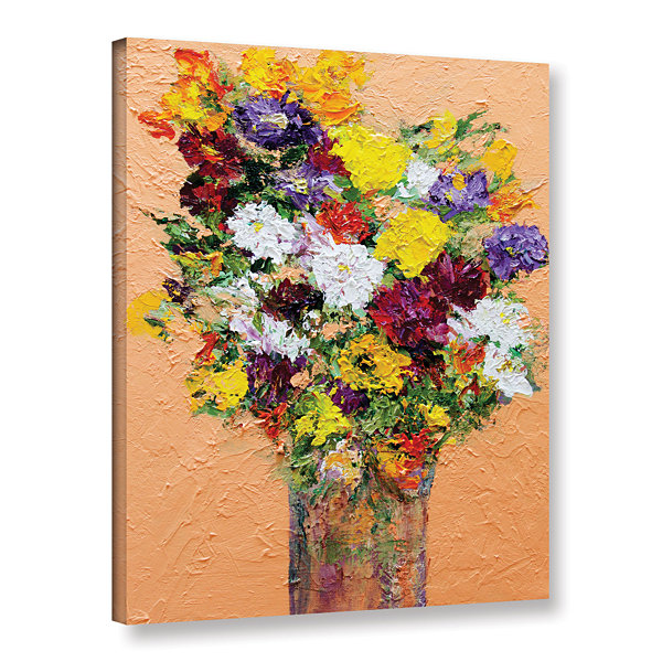 Brushstone Spring's Delight Gallery Wrapped CanvasWall Art