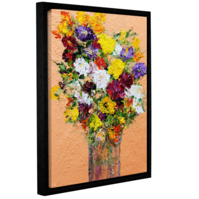 Brushstone Spring's Delight Gallery Wrapped Floater-Framed Canvas Wall Art