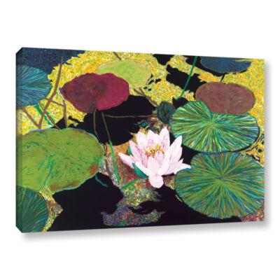 Brushstone Steamy Pond Gallery Wrapped Canvas WallArt