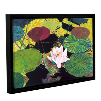 Brushstone Steamy Pond Gallery Wrapped Floater-Framed Canvas Wall Art