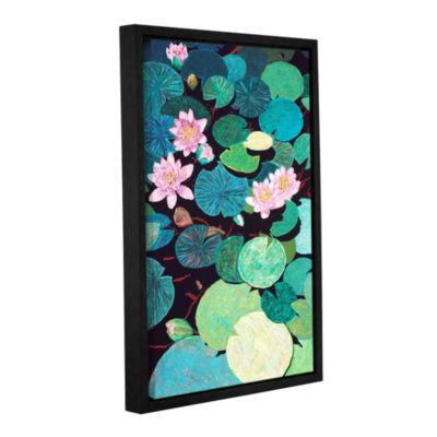 Brushstone Sudden Thunder Gallery Wrapped Floater-Framed Canvas Wall Art