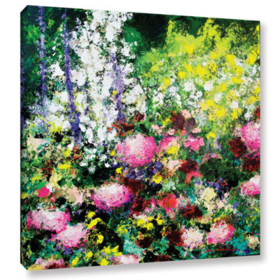 Brushstone Summertime Gallery Wrapped Canvas WallArt