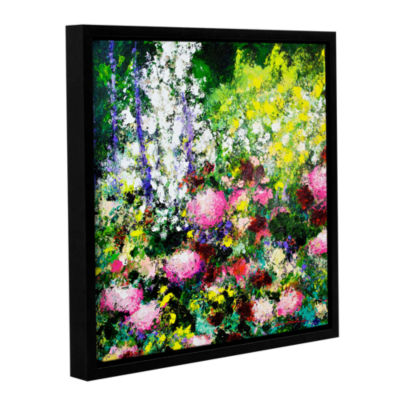 Brushstone Summertime Gallery Wrapped Floater-Framed Canvas Wall Art