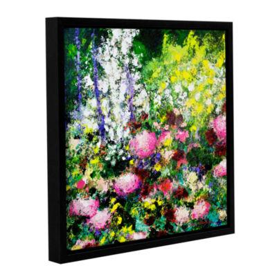 Brushstone Summertime Gallery Wrapped Floater-Framed Canvas Wall Art