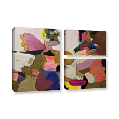 Brushstone Stage Left 3-pc. Flag Gallery Wrapped Canvas Wall Art