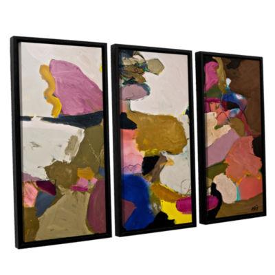 Brushstone Stage Left 3-pc. Floater Framed CanvasWall Art