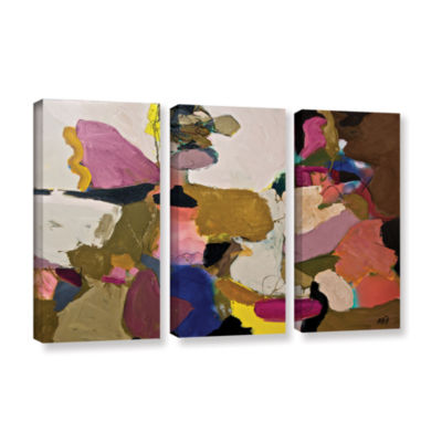 Brushstone Stage Left 3-pc. Gallery Wrapped CanvasWall Art