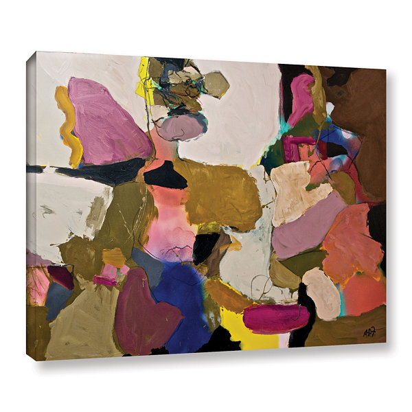 Brushstone Stage Left Gallery Wrapped Canvas WallArt