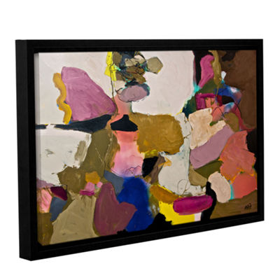 Brushstone Stage Left Gallery Wrapped Floater-Framed Canvas Wall Art