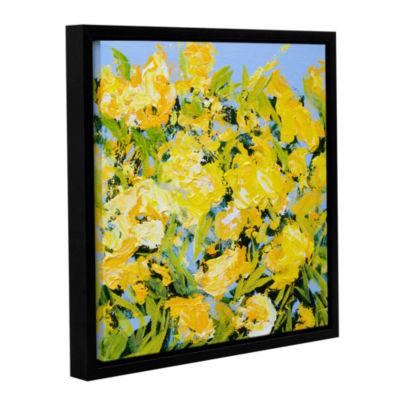 Brushstone Stellenberg Garden Gallery Wrapped Floater-Framed Canvas Wall Art