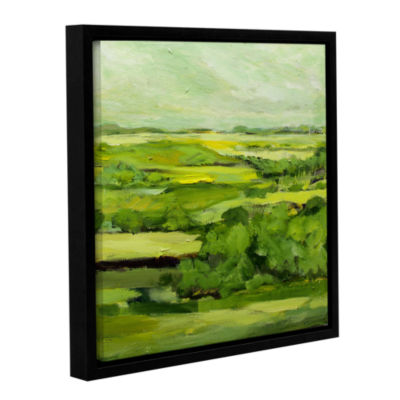 Brushstone Stow On The World Gallery Wrapped Floater-Framed Canvas Wall Art