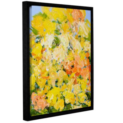 Brushstone Suan Nong Nooch Garden Gallery WrappedFloater-Framed Canvas Wall Art