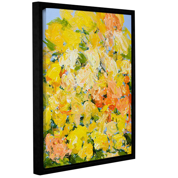 Brushstone Suan Nong Nooch Garden Gallery WrappedFloater-Framed Canvas Wall Art