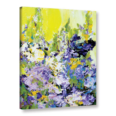Brushstone Sudeley Garden Gallery Wrapped Canvas Wall Art