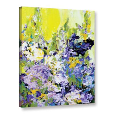 Brushstone Sudeley Garden Gallery Wrapped Canvas Wall Art