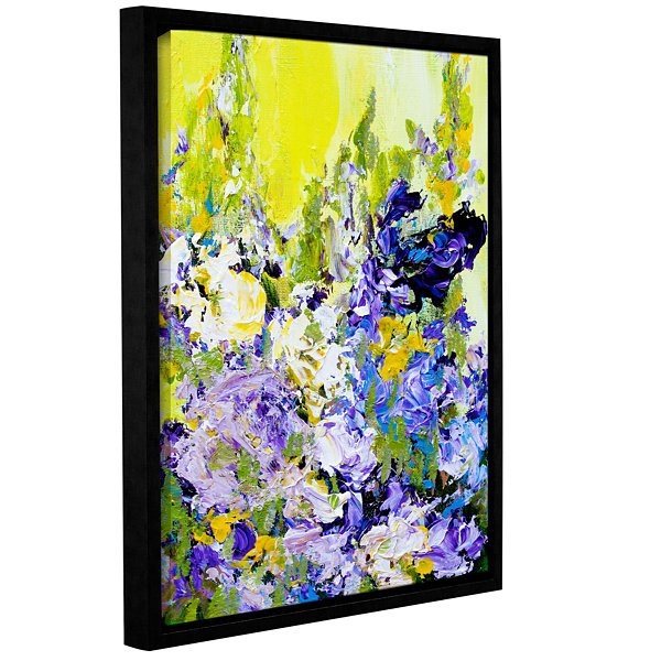 Brushstone Sudeley Garden Gallery Wrapped Floater-Framed Canvas Wall Art