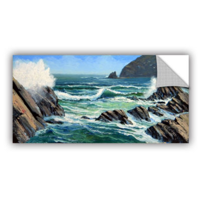 Brushstone Summer Surf Removable Wall Decal