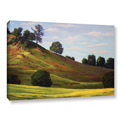 Brushstone Spring Day Gallery Wrapped Canvas WallArt