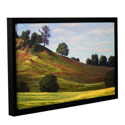 Brushstone Spring Day Gallery Wrapped Floater-Framed Canvas Wall Art