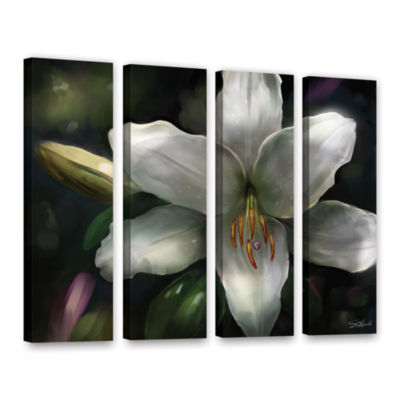 Brushstone Star Gazer 4-pc. Gallery Wrapped CanvasWall Art