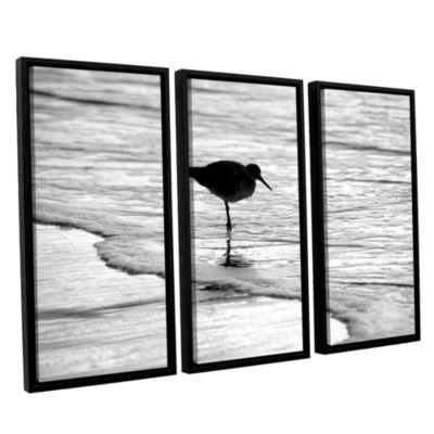 Brushstone Standing Alone 3-pc. Floater Framed Canvas Wall Art