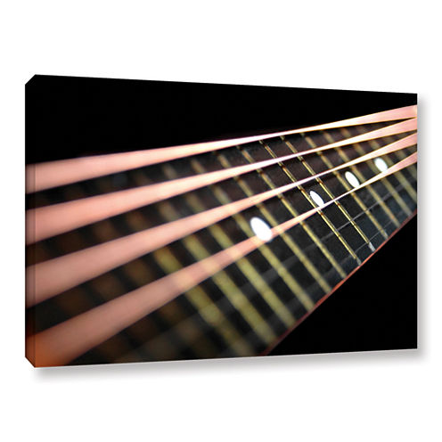 Brushstone String Abstract Gallery Wrapped CanvasWall Art