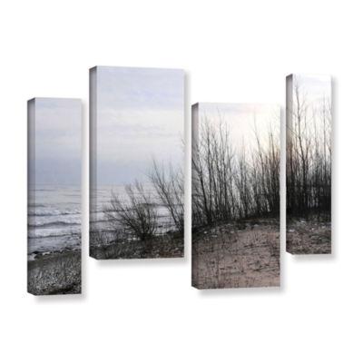 Brushstone Sundown 4-pc. Gallery Wrapped StaggeredCanvas Wall Art