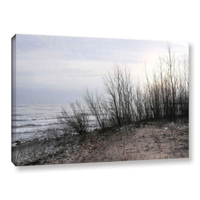 Brushstone Sundown Gallery Wrapped Canvas Wall Art