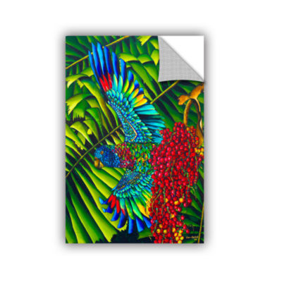 Brushstone St.Lucia Parrot Removable Wall Decal