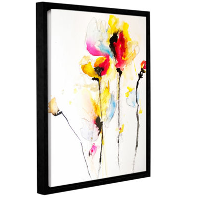 Brushstone Spring Vibrance Gallery Wrapped Floater-Framed Canvas Wall Art