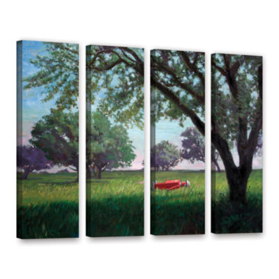 Brushstone Summertime 4-pc. Gallery Wrapped CanvasWall Art