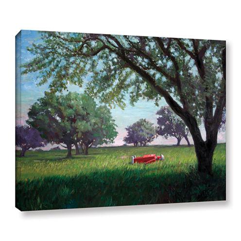 Brushstone Summertime (004) Gallery Wrapped CanvasWall Art