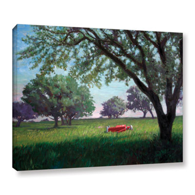 Brushstone Summertime (004) Gallery Wrapped CanvasWall Art