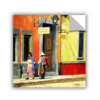 Brushstone Streets of Mexico Removable Wall Decal