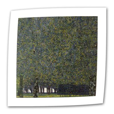 Brushstone Study of Judith Canvas Wall Art