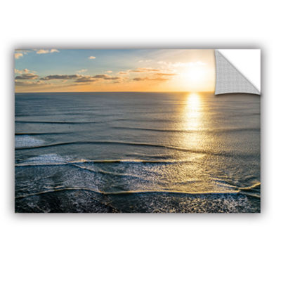 Brushstone Sun Shining Ripples Removable Wall Decal