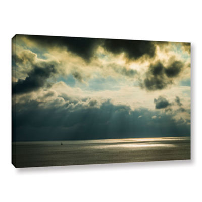 Brushstone Storm Clouds Clearing Gallery Wrapped Canvas Wall Art