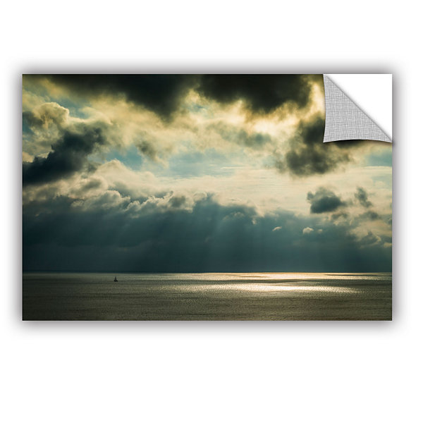 Brushstone Storm Clouds Clearing Removable Wall Decal