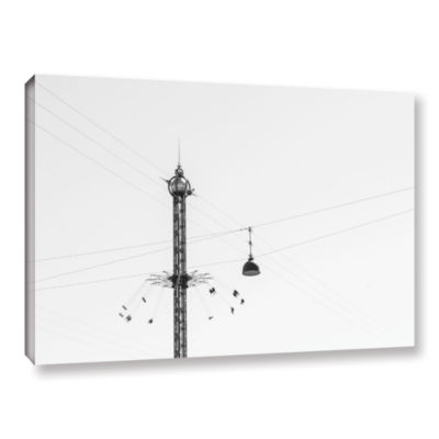 Brushstone Star Flyer Gallery Wrapped Canvas WallArt