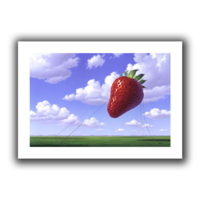 Brushstone Strawberry Field Canvas Wall Art